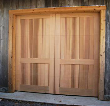 Custom Wood Garage Door AZ