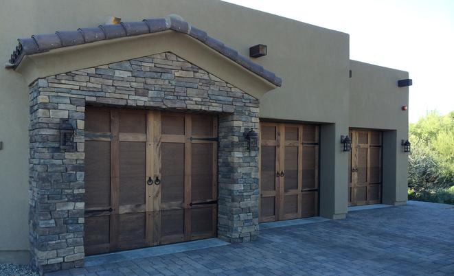 AZ Custom Wood Garage Doors