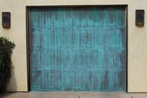 custom copper garage doors