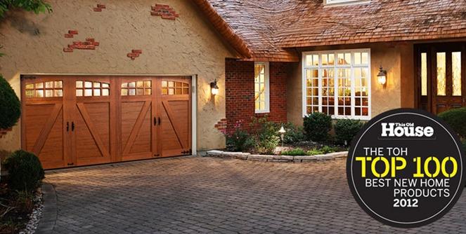 Des moines IA custom Faux Wood Garage Doors