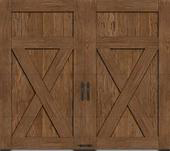 Custom Faux wood garage door Phoenix AZ