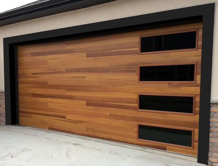 Arizona Custom wood Garage Doors
