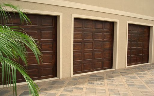 Custom Faux Wood Garage Door s Phoenix AZ