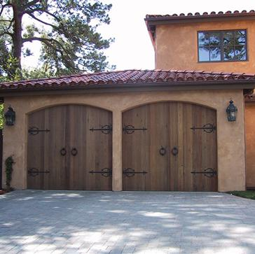custom wood garage doors Scottsdale, AZ