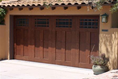 Wood Garage doors Scottsdale, AZ
