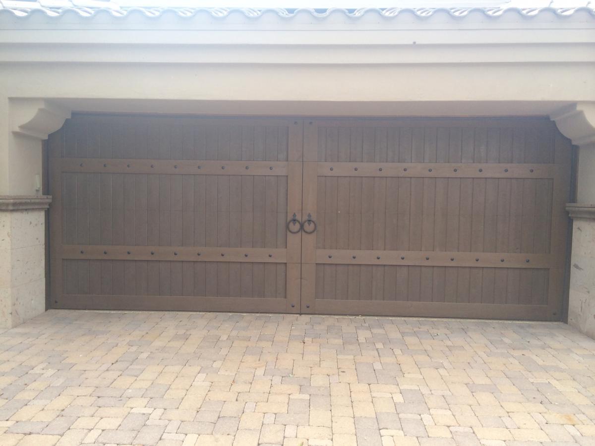 Custom wood garage doors gilbert az 602 677 5510 garage doors 1 of 2 rubansaba
