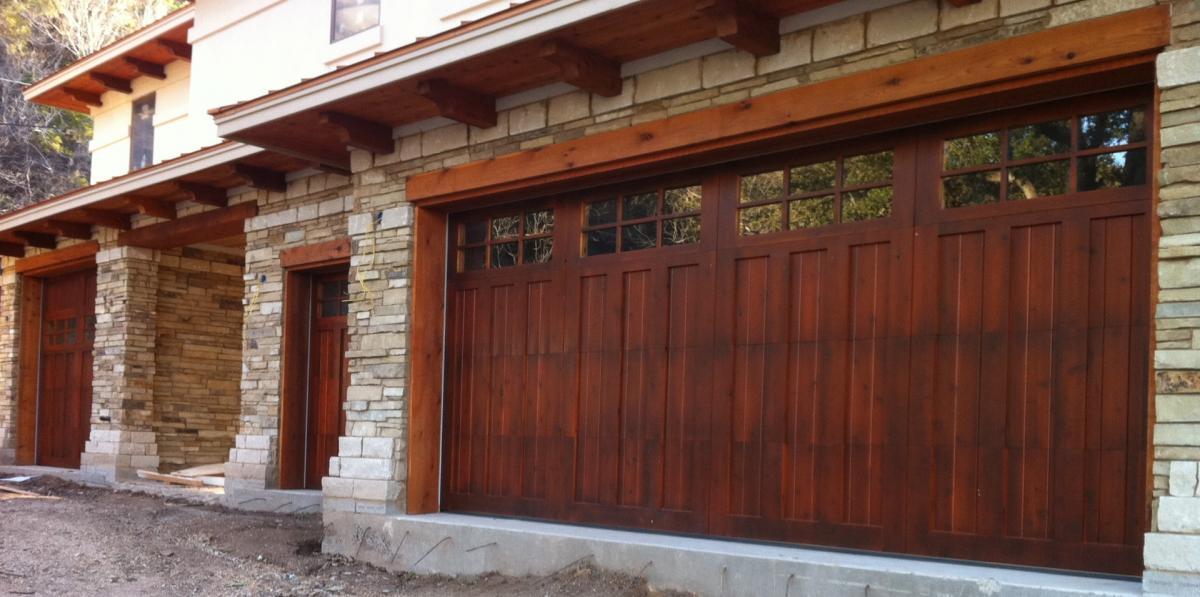Custom Wood Garage Doors Phoenix Az 602 677 5510