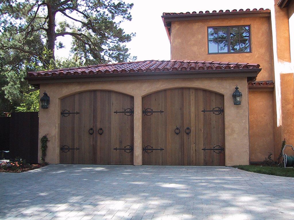 wood carriage garage doors. Wood Carriage Garage Doors N