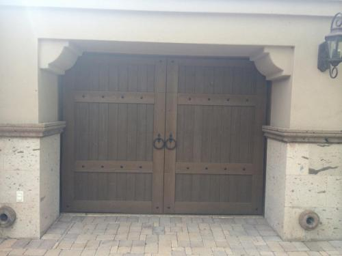 Custom Wood Garage Doors